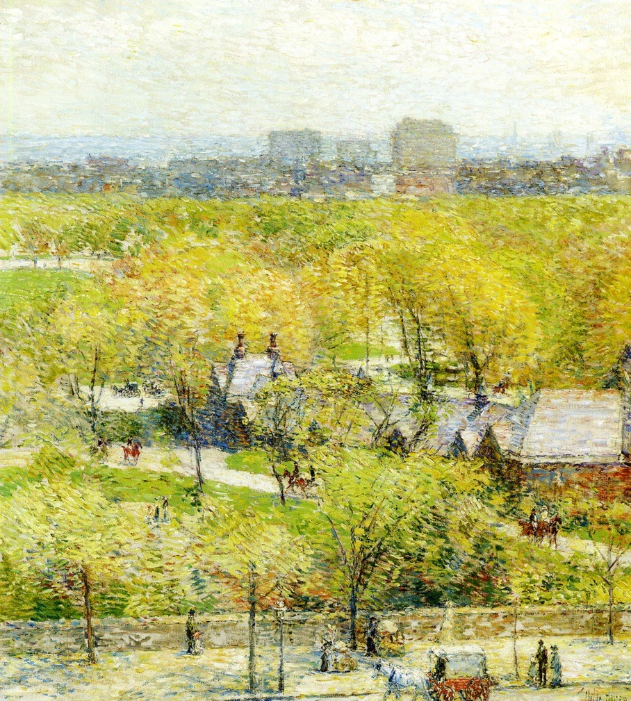 Across the Park, 1904